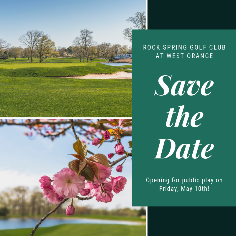 Rock Spring Club Save the Date